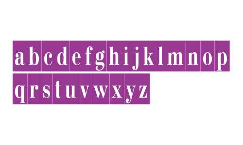 PT Bodoni Condensed Cameo Cyrillic