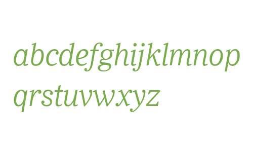Ysobel W04 Light Italic