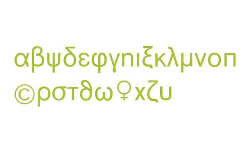 BERTHOLDAkzidenz-Grotesk Greek + Math Pi
