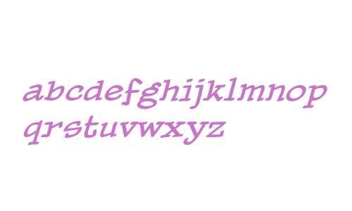 PaperBoy BB Italic