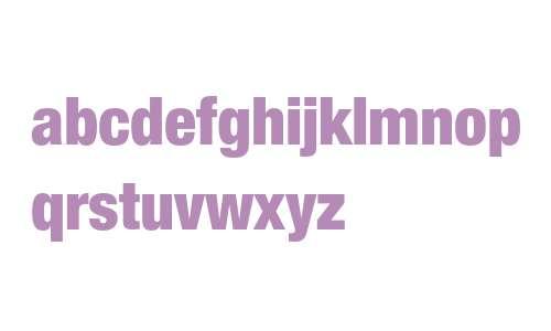 Helvetica 97 Black Condensed