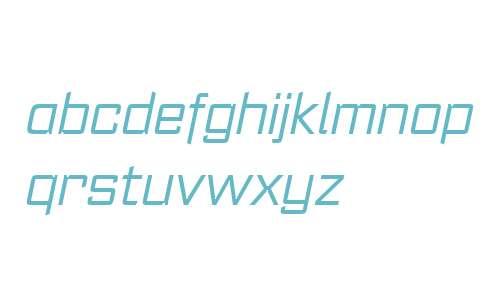 Register W00 Light Italic
