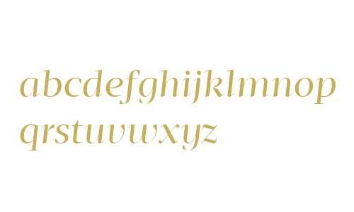 Mafra Display W04 Book Italic