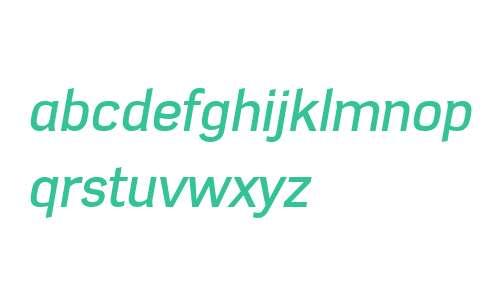 Azbuka W01 Medium Italic