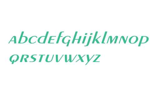 Exotic-Demi Wd Italic