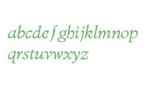 Diaconia Old Style W00 Italic
