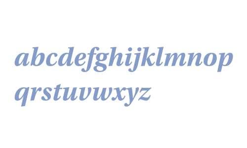 Utopia Std Bold Italic