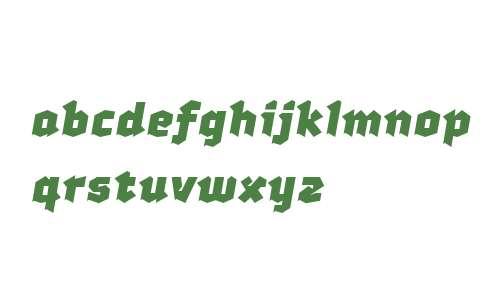 Gratis PRO W00 Bold Italic
