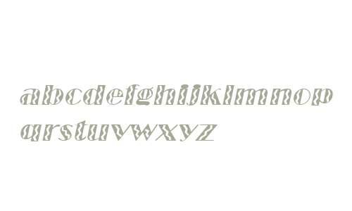 MarqueeFlash Italic