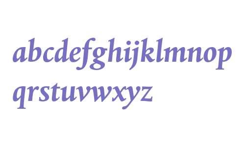 Albertina MT Std Bold Italic