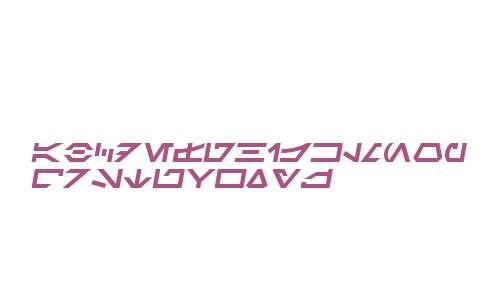 SF Distant Galaxy Symbols Italic V2 V2