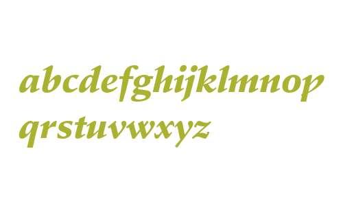 Stempel Schneidler Black Italic
