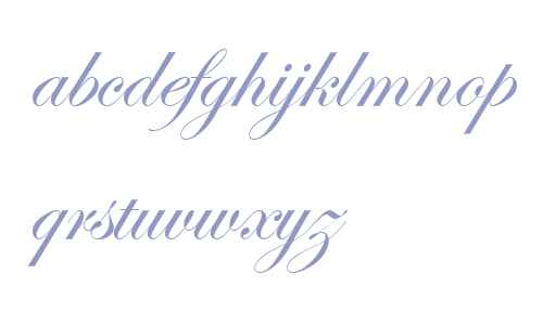 Edwardian Script ITC V1
