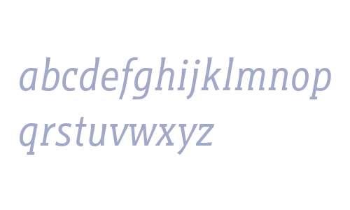Titla Brus Cond W03 Book Italic