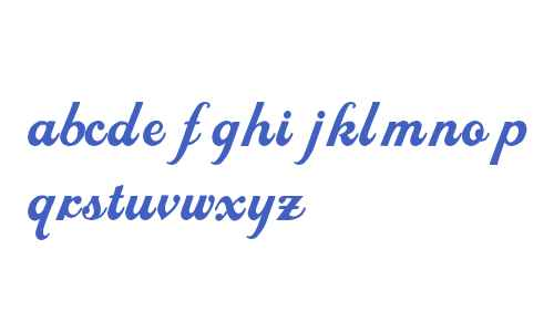 LHF Royal Script BETA