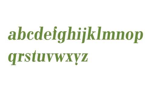 Pergamon Demi W03 Italic