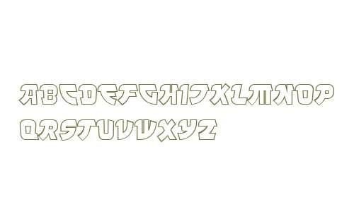 Manga Steel Outline OT W03 Rg