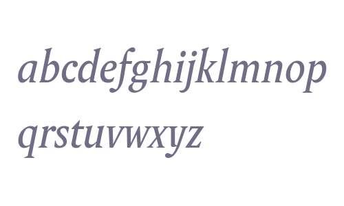 Wolpe Pegasus W01 Italic