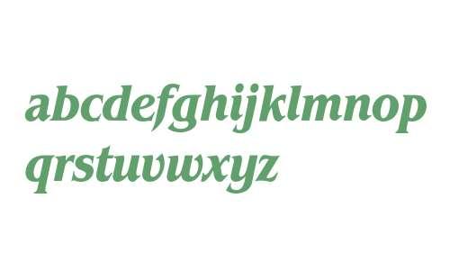 Benguiat* Condensed Bold Italic
