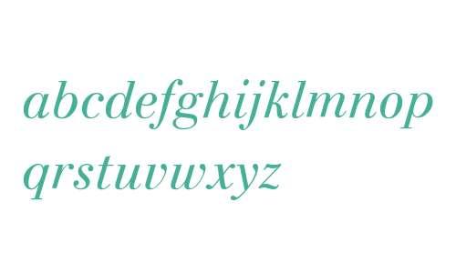 INAREA Classic Light Italic