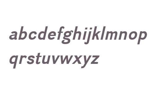 Divulge W00 Bold Italic