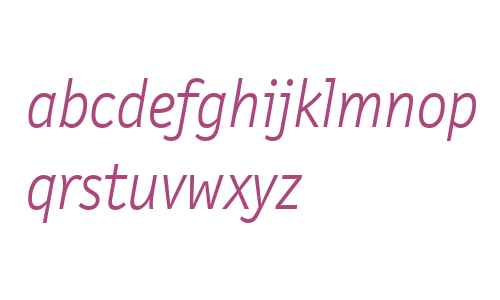 LetterGothicTxtWeb-LightItalicW03