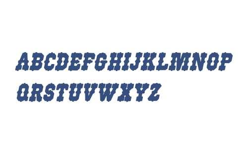 WoodType515Italic W90 Regular