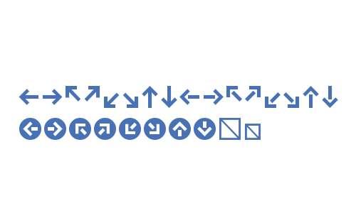 KlavikaArrows-Bold
