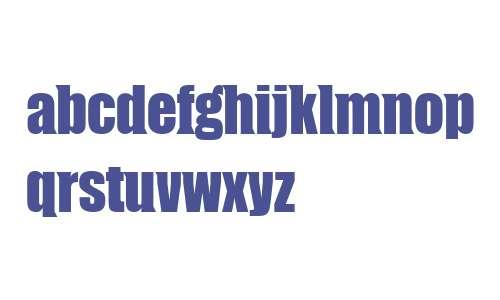 CompressorWedge Serif W00 Rg