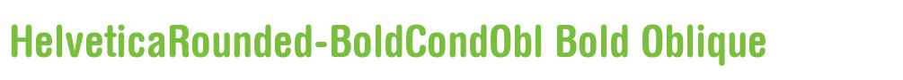 HelveticaRounded-BoldCondObl