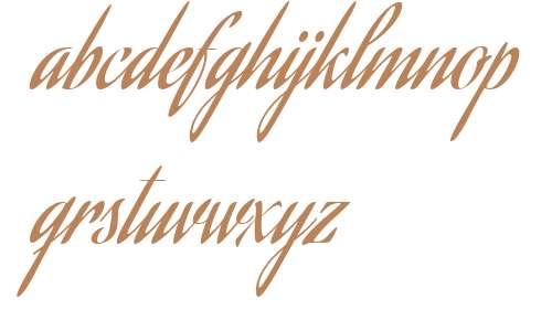 Aguafina Script W00 Regular