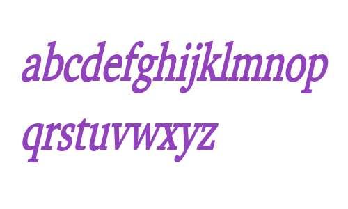 Challenge Thin Bold Italic