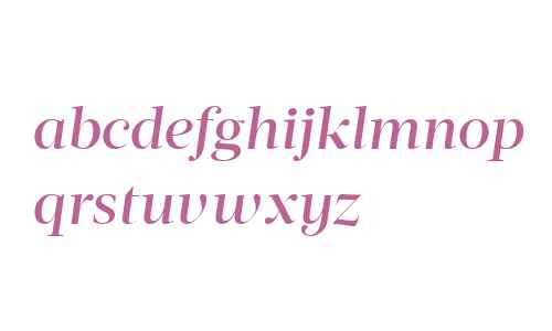 Acta Display W04 Medium Italic