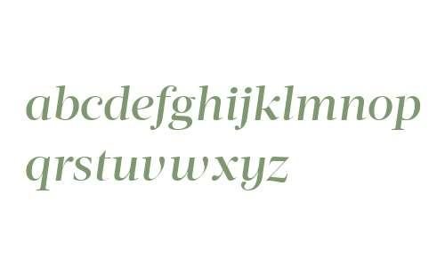 Acta Display W04 Medium Italic