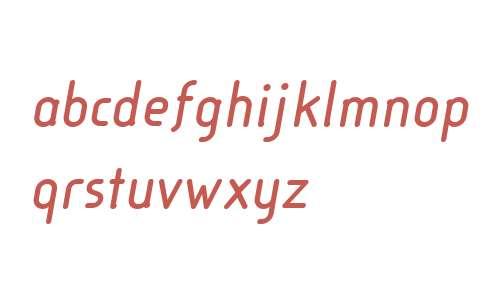Cineplex LT W04 Bold Italic
