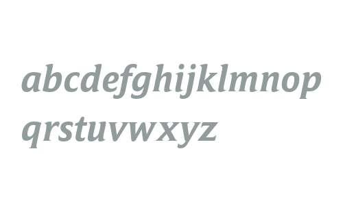 Campan W03 Bold Italic