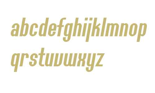 SF Willamette Italic V2 V1