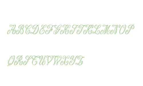 Antoinette Monogrammes W95 Rg