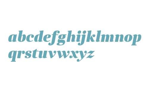 Anglecia Pro Title Black Italic