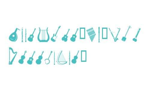 PIXymbols Musica W95 Italic