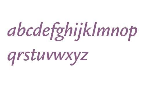 ITC Legacy Sans W04 Medium Ital