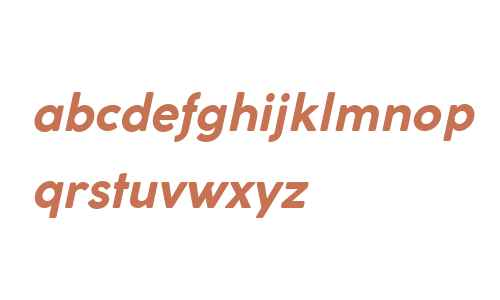 Coco Gothic Bold Italic