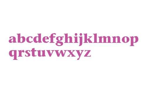 Mesouran Serif Black SSi Bold