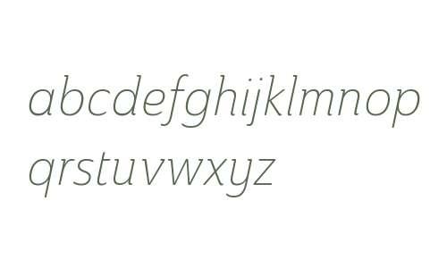 Ainslie W01 Cond Light Italic V1
