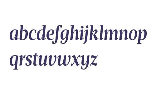 Mafra Condensed Deck Medium Italic