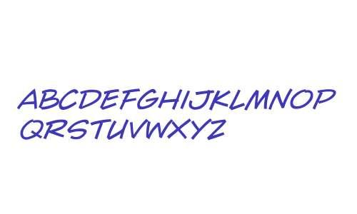 CCWallScrawler W00 Italic