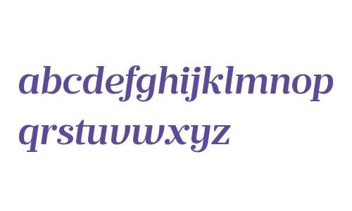 Prumo Text W00 SemiBold Italic