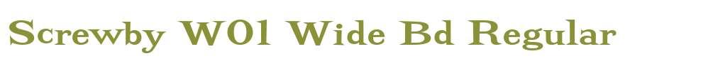 Screwby W01 Wide Bd