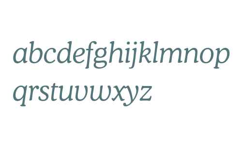 Bitstream Cooper Light Italic