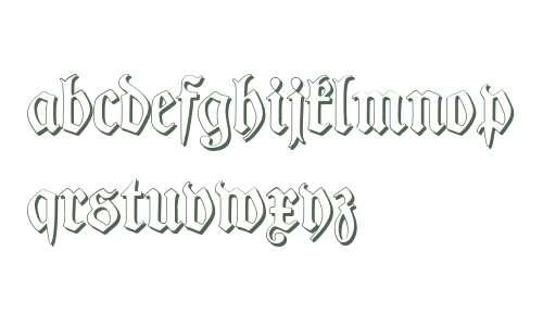 TypographerFraktur Shadow V2